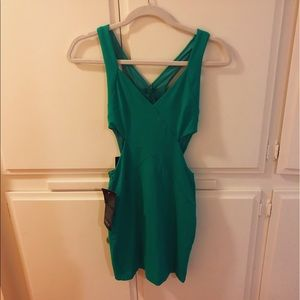Bodycon cutout dress with tags still attached